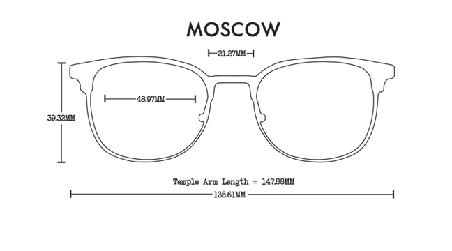 Moscow Aluminum Rx Optical Fit Guide