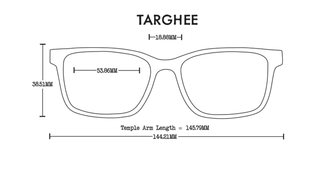 Targhee Wood Rx Optical Fit Guide