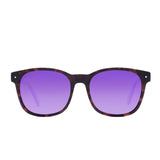 Matte Tortoise // Purple Mirror Polarized Lens
