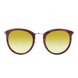 Rosewood // Gold Mirror Polarized Lens