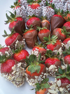 Gourmet Fancy Dipped Strawberries