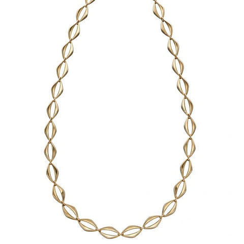 9ct Yellow Gold Open Link Necklace