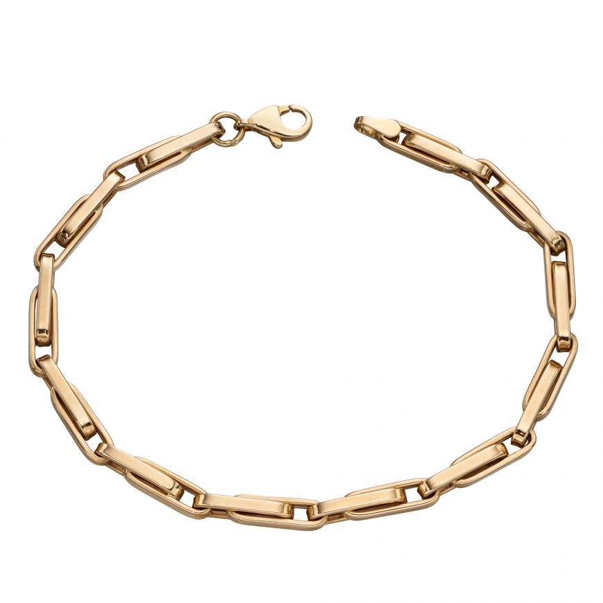 9ct Yellow Gold Linked Bracelet