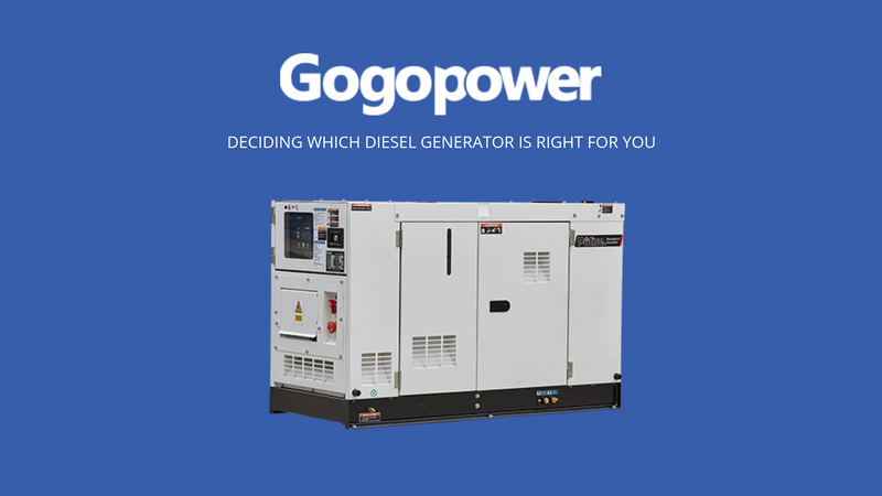 Deciding Which Diesel Generator Is Best For You
