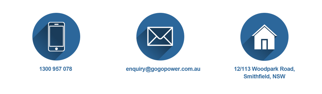 Contact us at Gogopower