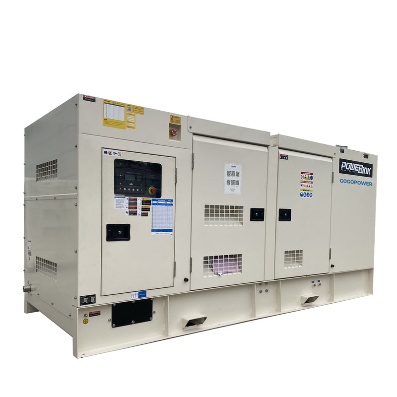 150KW Natural Gas Generator 415V, 3 Phase: Powered by PowerLink