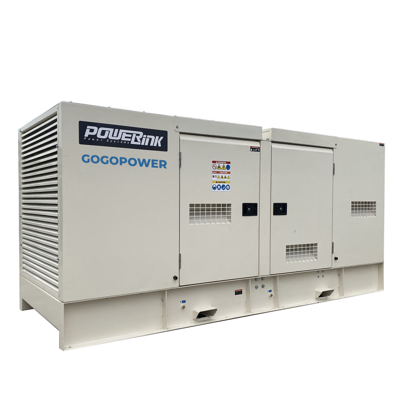 200KW Natural Gas Generator 415V, 3 Phase: Powered by PowerLink