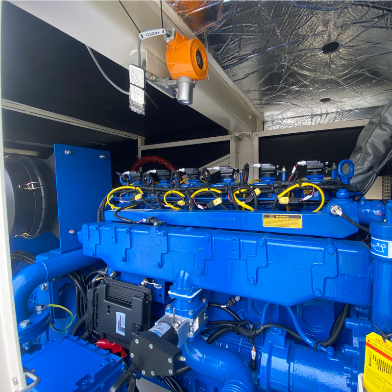 100KW Natural Gas Generator 415V, 3 Phase: Powered by PowerLink