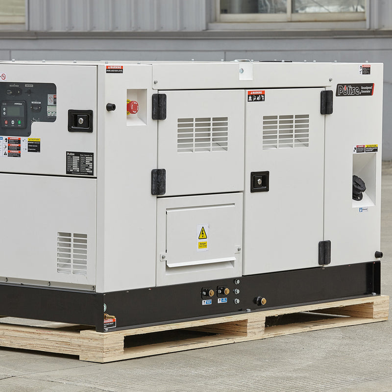 DT30K5S, 33kVA Diesel Generator 415V, 3 Phase: Powered by Kubota