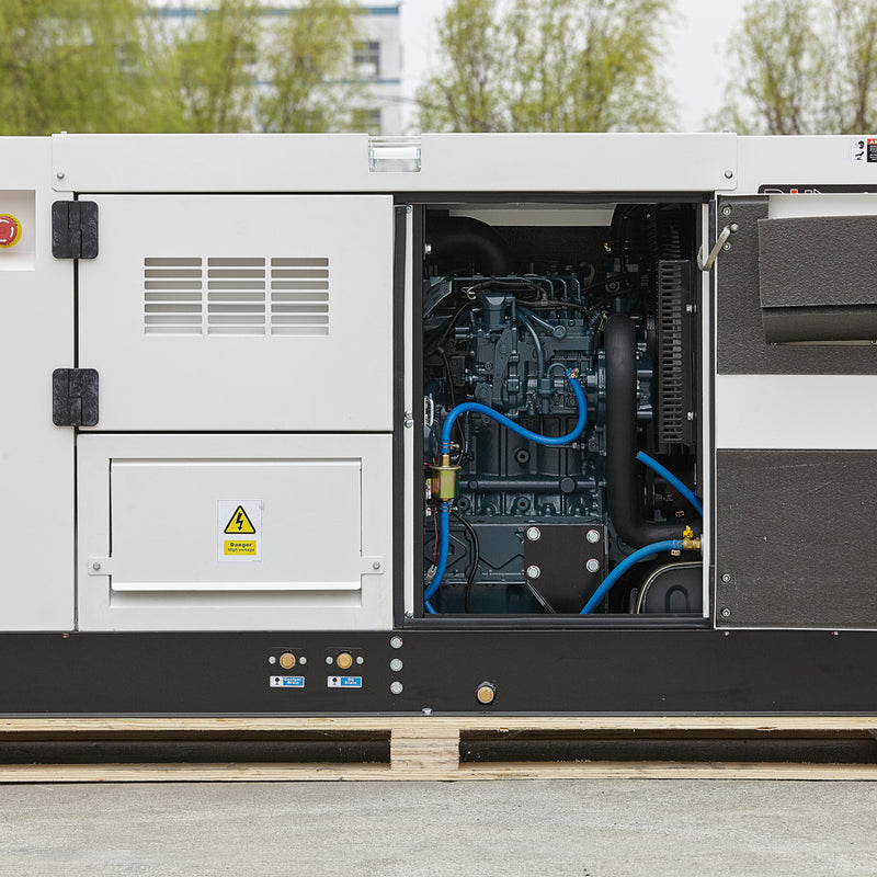 DT10K5S, 11kVA Diesel Generator 415V, 3 Phase: Powered by Kubota