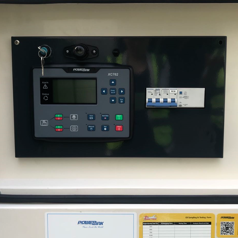 16KW Natural Gas Generator 415V, 3 Phase: Powered by PowerLink