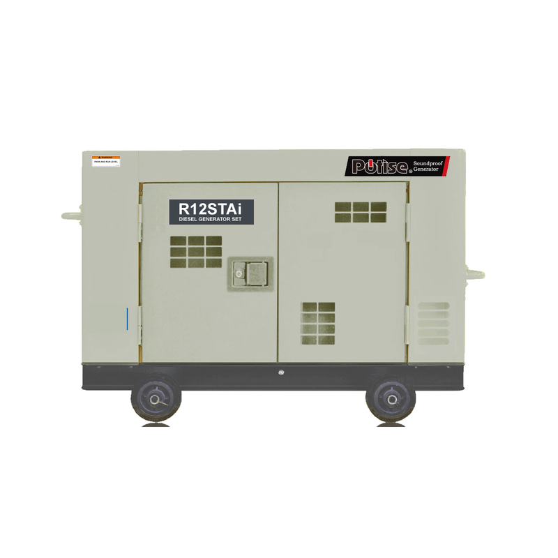 R12STAi-AU, 9.5kVA Portable Diesel Generator 240V, 1 Phase: Powered by OEM Engine