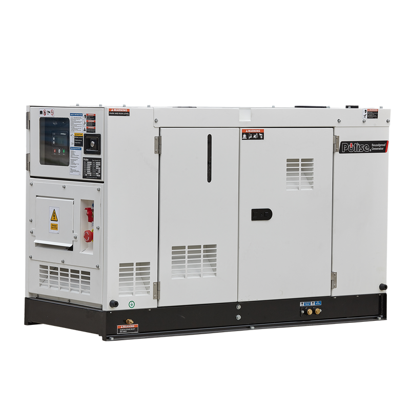 PRE SALE SDT15P5S, 16.5kVA Diesel Generator 240V, 1 Phase: Powered by PowerLink
