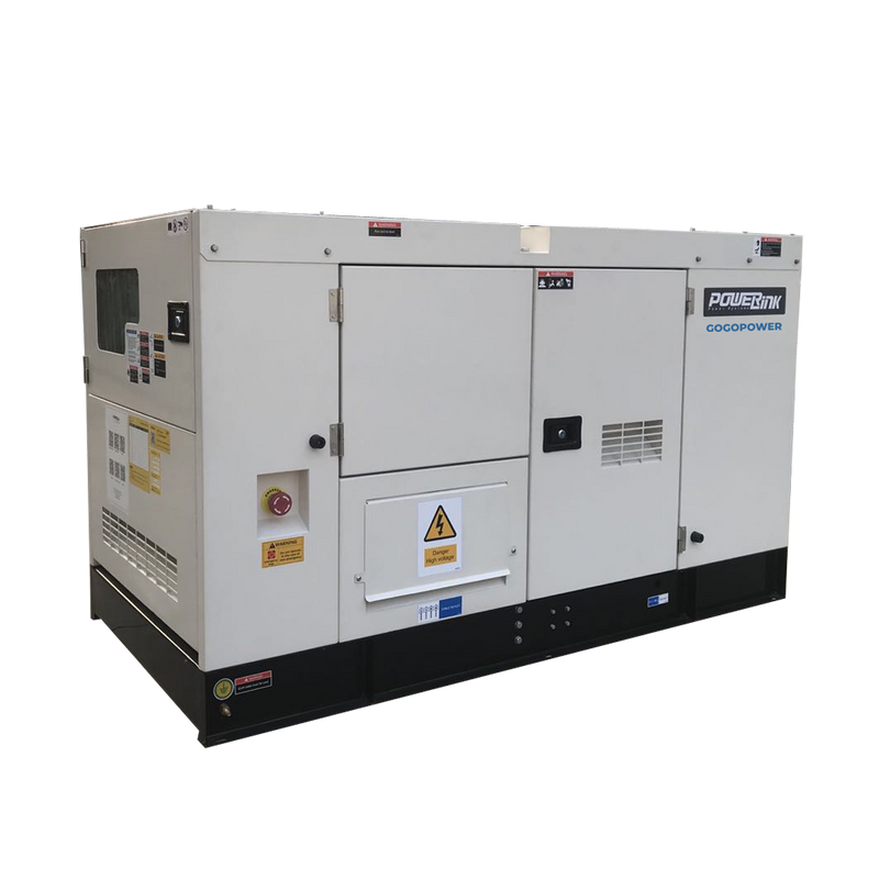 GR30S-NG, 30KW Natural Gas Generator 415V, 3 Phase: Powered by PowerLink