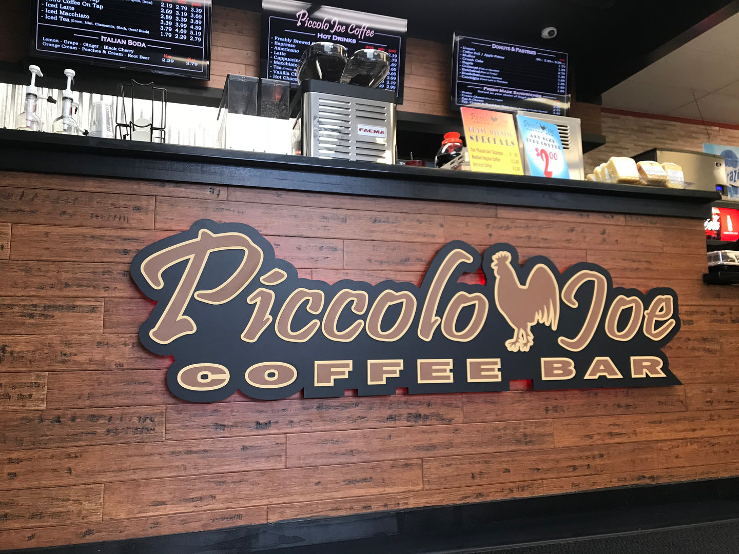 SIGNS FOR YOUR RESTAURANT, BAR OR COFFEE SHOP