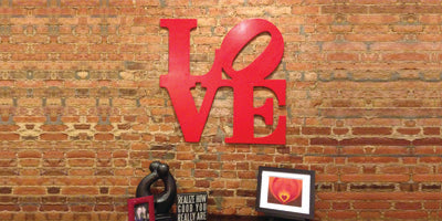 Love Park Home Decor Signs