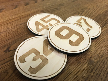Boston Baseball Retired Player Coasters