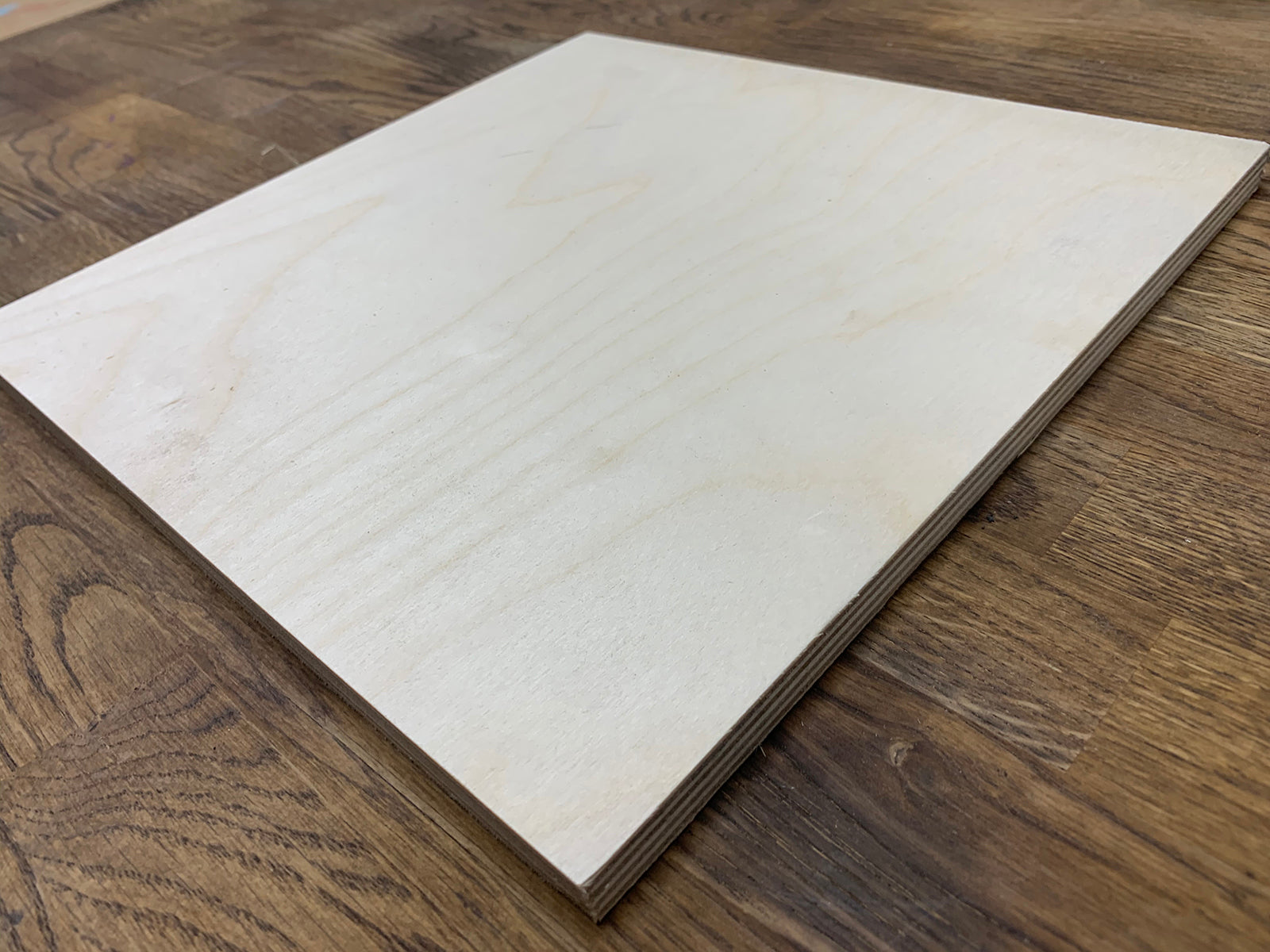"Wooden Square and Rectangle Shapes - 1/2"" Thick"