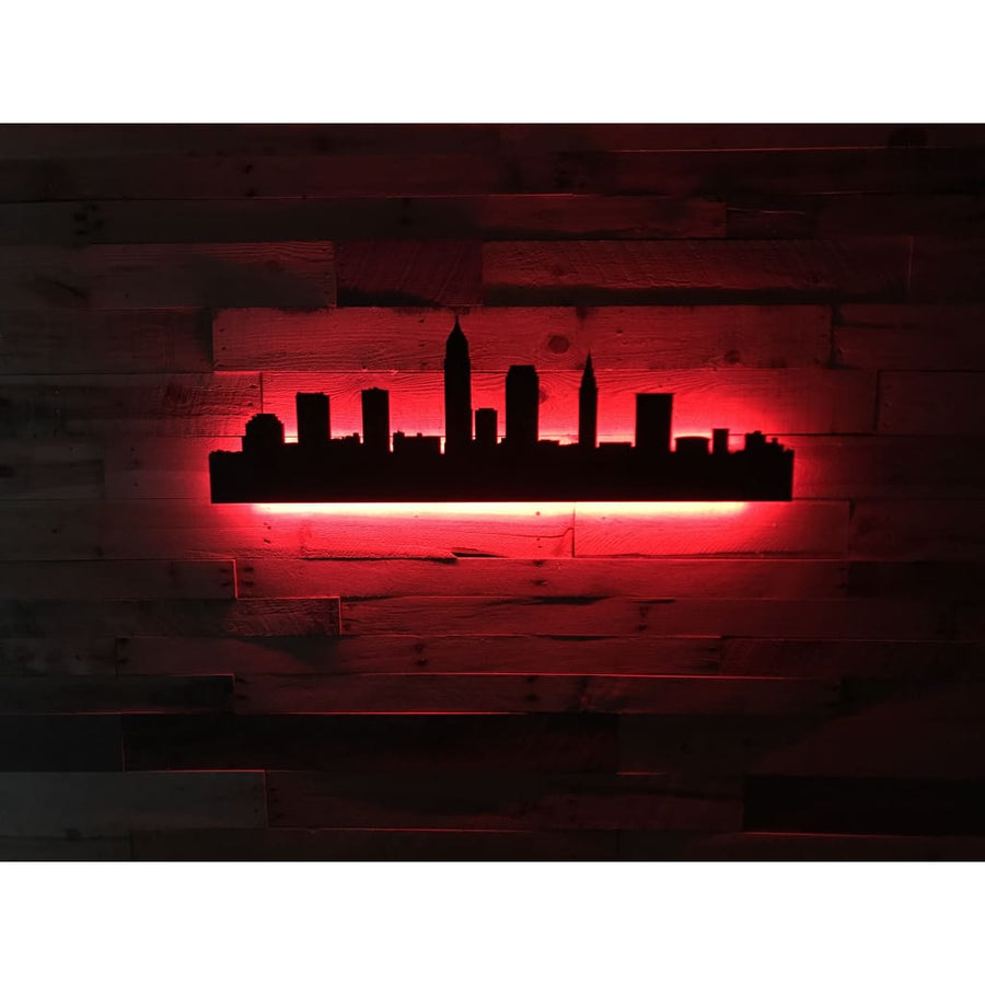Lighting Cleveland: Cleveland LED City Skyline