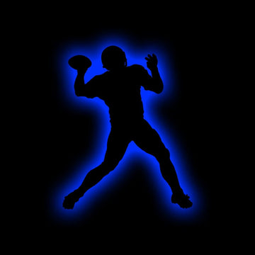 Football Quarterback Silhouette