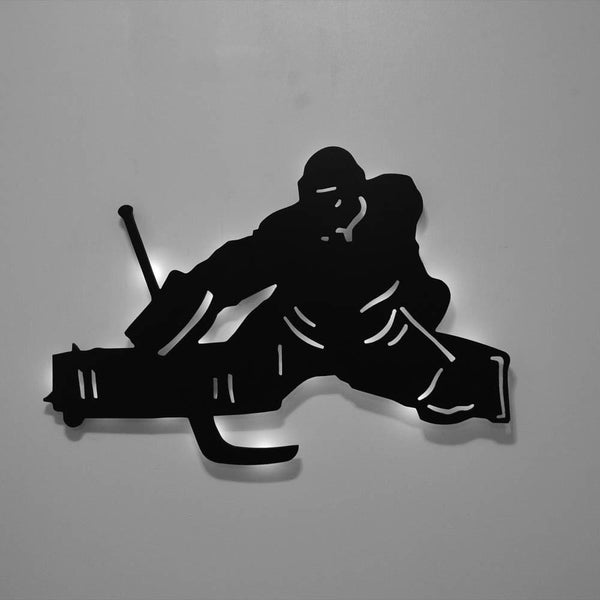 Ice Hockey Goalie V2 - Led Signs