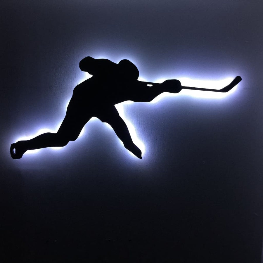 Ice Hockey Slapshot - Led Signs