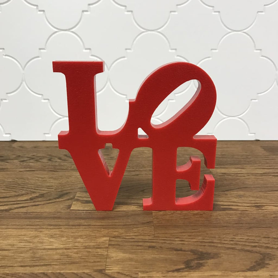 Mini love sign addicted furnishings for Love sign