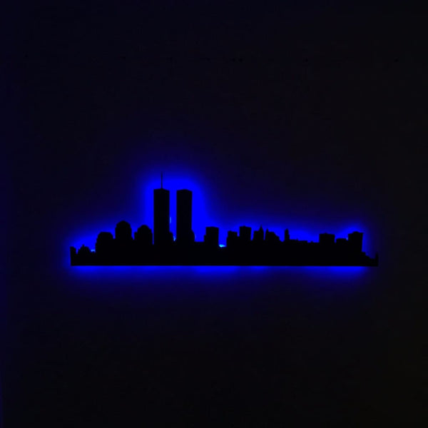 New York City Skyline - V2 (Twin Towers)