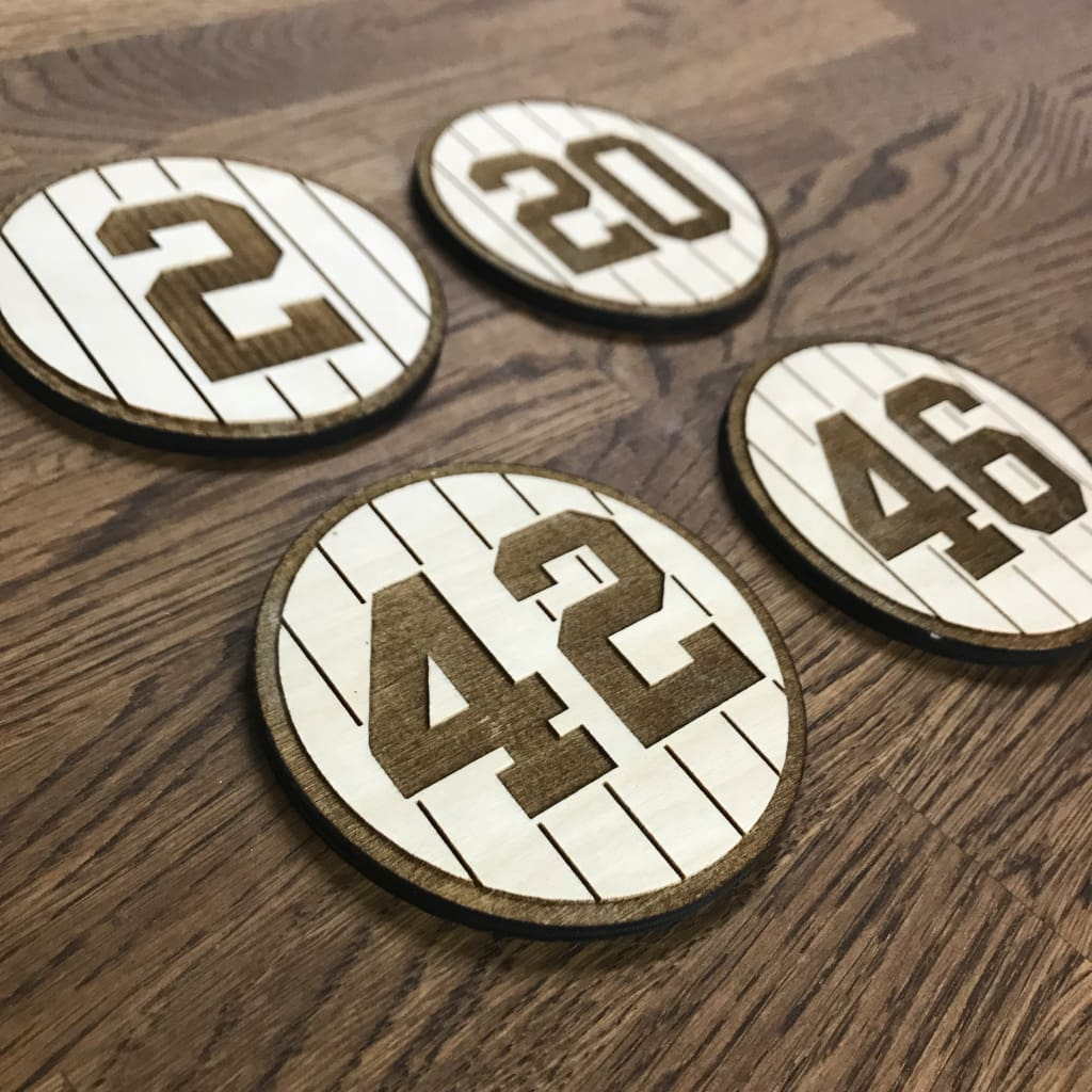 New York Yankees Core Four Coasters