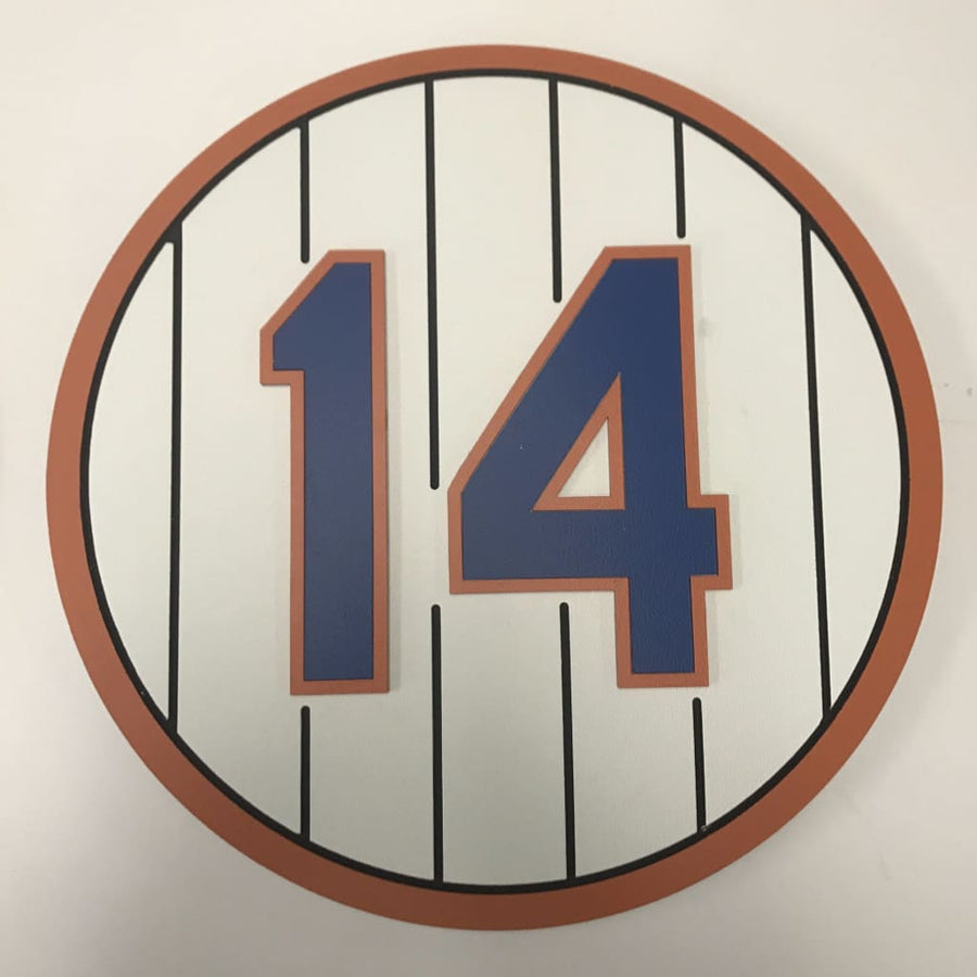 Ny Mets Retired Number Plaques