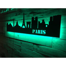 Load image into Gallery viewer, Paris City Skyline - Wall Decor