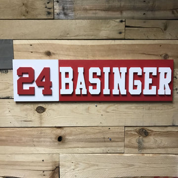 Personalized Name Plaque - Retirement Plaque