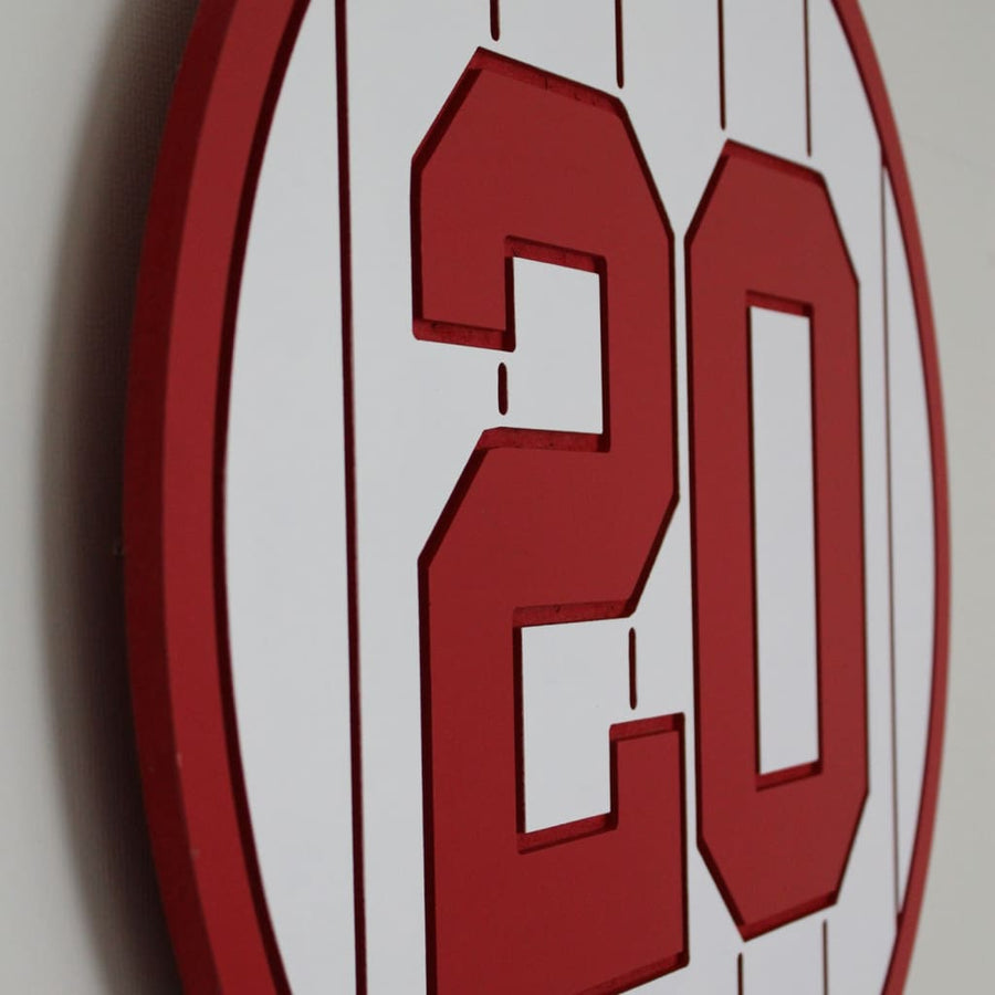 Philadelphia Phillies Retired Baseball Plaques
