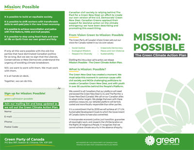 Mission Possible Trifolds - GPC Trifolds Mission Possible