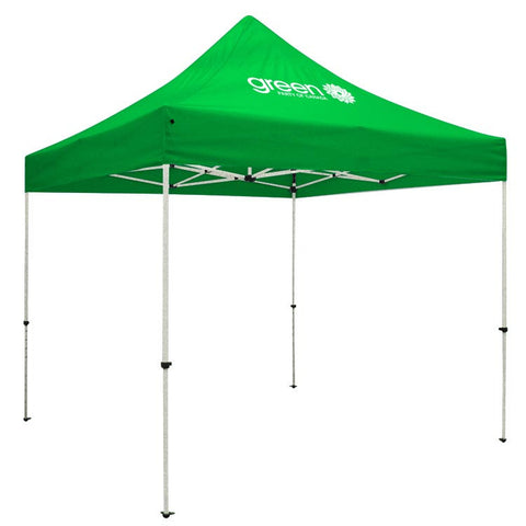 GPC Event Tent - Standard 10' x 10' Event Tent Kit (Full-Color Thermal Imprint/1 Location)