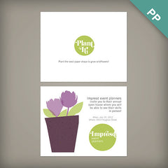 100% Plantable 4x6 Seed Paper Post Cards