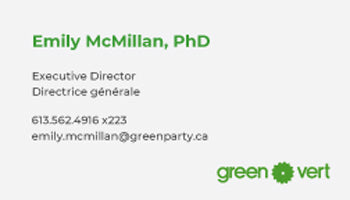 Canada's Greenest Business Cards