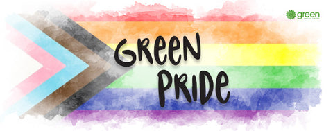 Green Pride Bumper Sticker