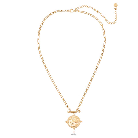 Zeus Necklace Gold