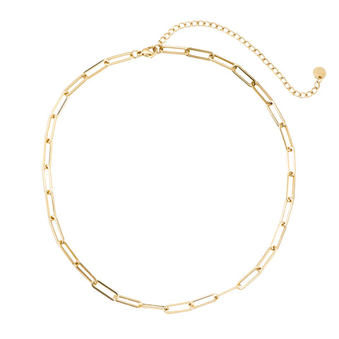 Chain It Up Necklace Gold