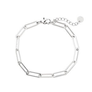 Chain it up Bracelet Silver