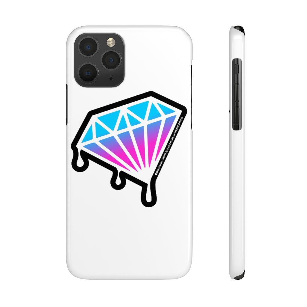 Official Diamond Drips Mate Slim iPhone Case
