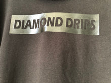 Load image into Gallery viewer, Official Diamond Drips black on black diamond Tee