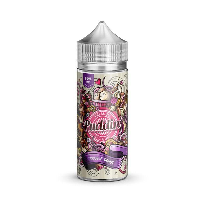 Puddin' - Double Donut - 80ml Shortfill