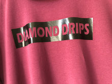 Load image into Gallery viewer, Official Diamond Drips burgundy and black diamond Tee