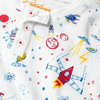 Rocket to Mars - Long Sleeve Pajamas