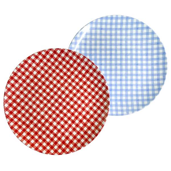 Red Gingham Tableware
