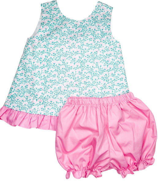 Mae Swing Bloomer Set - Spring Floral Collection (18m)