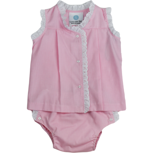 Jill Diaper Set - Pink MG- Little Bunny Foo Foo