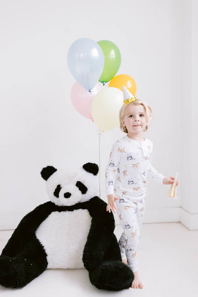 JUNGLE PARTY TWO PIECE PAJAMAS